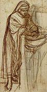 "New artwork for sale! - "" Rossetti Dante Gabriel Study For Dante At Verona With A Preliminary by Dante Gabriel Rossetti "" - http://ift.tt/2pHZZSH"