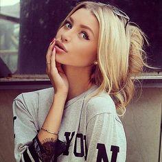 Włosowe inspiracje: Fryzury dla blondynek (i nie tylko)! #4 | www.ePepa.pl