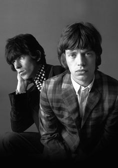 Keith Richards and Mick Jagger, The Rolling Stones