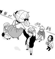 Hibi chouchou x Hirunaka no Ryuusei *-* Manga Anime, All Anime, Manga Girl, Anime Art, Hibi Chouchou, Daytime Shooting Star, Onii San, Tsubaki Chou Lonely Planet, Hirunaka No Ryuusei