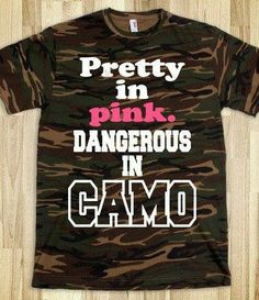 Even more dangerous in pink camo