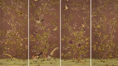 fromental wallpaper | Exquisite handmade wallpapers and fabrics from Fromental