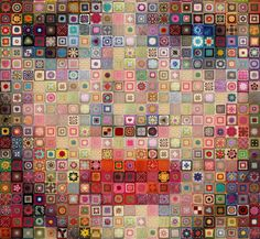 brittany murphy in #crochet granny squares digital art