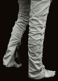 XAMPAGNE, SS11: braided jeans. #denim #xampagne #pant