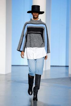 Tibi; ooo I like this combo. A do able runway outfit.