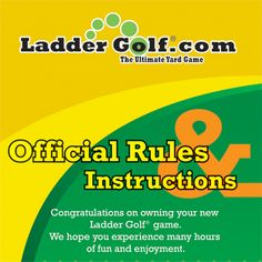 The goal of Ladder Ball is simple; to have fun, but before you start to play an official game of Ladder Golf, it is important to know the rules! If you