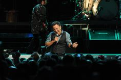 Bruce Springsteen and the E Street Band Wrecking Ball World Tour at Jobing.com Arena. Photo by: Norm Hall