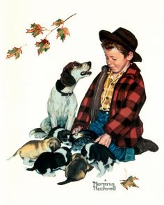 Norman Rockwell...