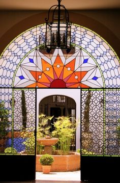 Royalty-free Image: andalusian style patio