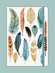 My Feathers Gilded Journal available for purchase from Galison.com © Margaret Berg.
