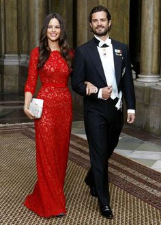 Swedish Royals Official dinner, Royal Palace of Stockholm, Sweden. 18 November 2014