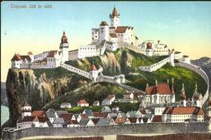 Hungary, Castles, 1, Mansions, Landscape, House Styles, City, Building, Postcards