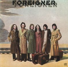 FOREIGNER. One of my fave bands and albums. Discovered them my freshman year at ACU!