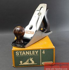 Stanley Bailey Hobel 4 guter Zustand / Stanley Bailey plane 4 good condition