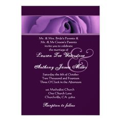 ShoppingSoft Purple Rose Wedding Template H438 Personalized Announcementso please read the important details before your purchasing anyway here is the best buy