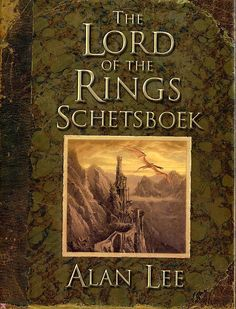 The lord of the rings schetsboek