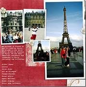 paris scrapbook layout - Bing Images