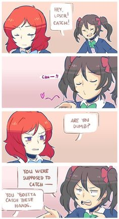 Nico and Maki