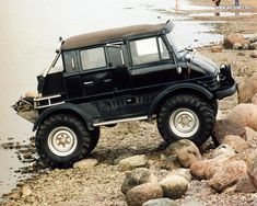 I'd use this one in town! Unimog