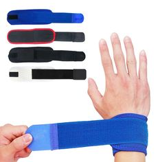 Sports Accessories Smart 1pcs Cotton Elastic Bandage Hand Sport Wristband Gym Support Wrist Brace Wrap Carpal Tunnel Goods Of Every Description Are Available