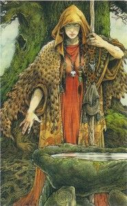 'The Seer', from the Wildwood Tarot