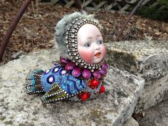 """Rosie"" has a bit of Don King about her. Betsy Youngquist www.byart.com $2000"