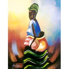 @Overstock - Brighten any room in your home with this fine canvas art painting by artist Nana Kojo a Fante Tribesman of Ghana. This canvas art painting depicts an African Mother with a baby on her back a traditional way mothers carry their babies in Western Africa.http://www.overstock.com/Worldstock-Fair-Trade/Nana-Kojo-African-Mother-Profile-Unframed-Canvas-Painting-Ghana/6152760/product.html?CID=214117 $48.59