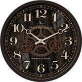 "Found it at Wayfair Supply - 12"" Industrial Gears Wall Clock"
