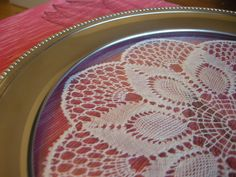 Lace Plates, Tableware, Licence Plates, Dishes, Dinnerware, Griddles, Tablewares, Dish, Place Settings