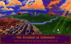 The Kingdom of Callahach. Free Pc Games, Video Games, Adventure, Places, Artwork, Fun, Movie Posters, Painting, Image