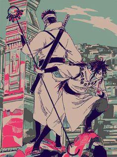 Ōtsutsuki Indra and Ōtsutsuki Asura