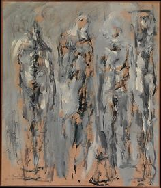 Untitled (Four Figures) by Nicolas Carone, ca.1951