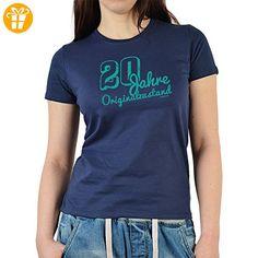 Damen T-Shirt - Geschenk zum 20. Geburtstag - 20 Jahre Originalzustand - Geschenkidee - Sexy Girlie-Shirt - Shirts zum geburtstag (*Partner-Link)