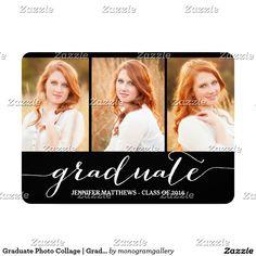 Graduate Photo Collage | Graduation Party Card