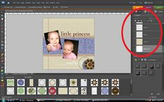 digital scrapbooking basics - photoshop elements