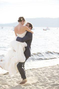 Lake Tahoe wedding: http://www.stylemepretty.com/2015/02/04/stylish-lake-tahoe-summer-wedding/ | Photography: Melina Wallisch - http://melinawallisch.com/