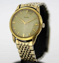 Currently at the #Catawiki auctions: Omega Vintage 1950´s Manual Winding Swiss Made Gold Plated Wristwatch