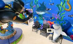 Underwater Adventures in Themed Doctors Office | Imagination Dental Solutions