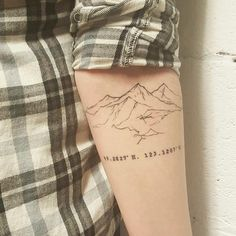 Healed mountain tattoo - Tattoo People Toronto - Jess Chen