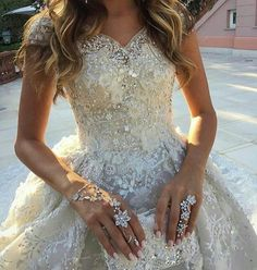 New Robe De Mariage Luxury Cathedral Train Wedding Dress Brautkleid With Beading Ball Gown Wedding Dresses 2017 Vestido De Noiva Wedding Dress Train, Custom Wedding Dress, Long Wedding Dresses, Designer Wedding Dresses, Bridal Dresses, Wedding Gowns, Designer Evening Gowns, Celebrity Gowns, Bridal Fabric