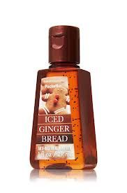 Iced Ginger Bread Hand Sanitizer from Bath and Body works smells so good!