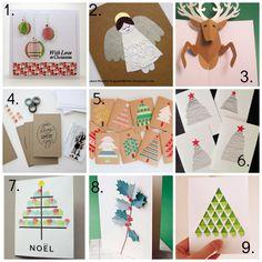 Christmas card tutorials