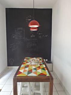 Faça você mesmo: Luminária pendente - Ideias em Casa