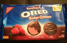 New Raspberry Oreo Fudge Cremes
