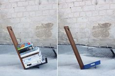 Some clever new shelf concepts from Shay Carmon and Ben Klinger, of Israel-based Studio Ve