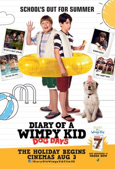 Diary Of A Wimpy Kid Dog Days Diary Of A Wimpy Kid Diario De