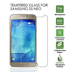 DN-TECHNOLOGY® [1 PACK IN STOCK NOW ] SAMSUNG GALAXY S5 NEO Tempered Glass Premium Quality Tempered-Glass Screen Protector for New SAMSUNG GALAXY S5 NEO [GLASS Ultra Thin Display] Lightweight Rounded Edge Hardness up to 9H (harder than a knife) - Includes Micro fibre Polishing Cloth DN-TECHNOLOGY® http://www.amazon.co.uk/dp/B019Y201EE/ref=cm_sw_r_pi_dp_QnYPwb1MNEPDF