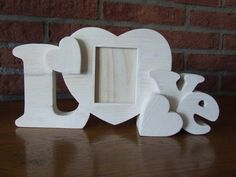 Photo frame heart - Scroll Saw Woodworking & Crafts Photo Gallery