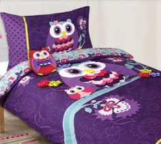Night Owl Quilt Cover Set by Cubby House Kids