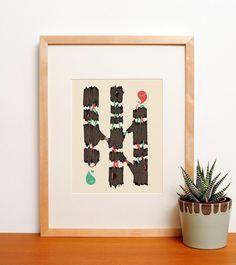 26. AMAN / ELLIE ANGLIN - Papirmass • Affordable Art